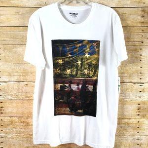 William Rast American Race T-shirt SZ L  - NWT